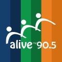 Alive 90.5 FM logo