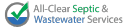 All Clear Septic logo