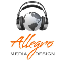Allegro Media Design - Audio Post Production logo