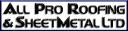 All Pro Roofing & SheetMetal Ltd. logo