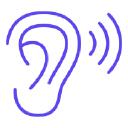 ALPHA HEARING & SPEECH REHAB logo