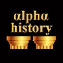 Alpha History logo icon