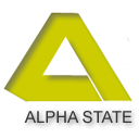 Alpha State .co.uk logo