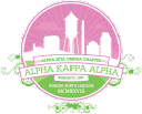 Alpha Zeta Omega Chapter of Alpha Kappa Alpha Sorority, Inc. logo