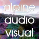 Alpine Audio Visual, Inc. logo