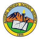 Alvord Unified School District logo