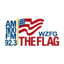 "AM 1100 ""The Flag""/FM 106.9 ""The Eagle"" Great Plains Integrated Marketing logo"