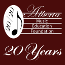 Alberta Music Education Foundation logo