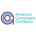 American Composers Orchestra logo