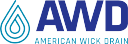 American Wick Drain Corporation (AWD) logo