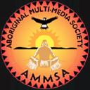 Aboriginal Multi Media Society (AMMSA) logo