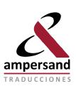 Ampersand Traduccions logo