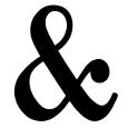 Ampersand Shops Logo