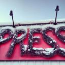 AnchoragePress and Arctic Warrior logo
