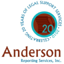 Anderson Reporting Services, Inc. logo