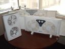 Andeswind, Ventiladores gemelos para ventanas y oficinas. logo