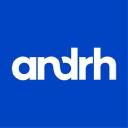 Animation soirée entreprises - Logo de l'entreprise ANDRH pour une préstation en réalité virtuelle avec la société TKorp, experte en réalité virtuelle, graffiti virtuel, et digitalisation des entreprises (développement et événementiel)