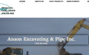 Anson Excavating & Pipe, Inc. logo