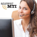 AnswerMTI, Live 24/7 Answering Services and Call Center logo