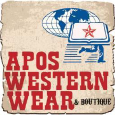 Apos Western Wear Boutique Logo