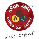 Aqua Java Fast Food logo