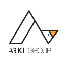 Arki group design logo