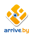 Arrive.by logo