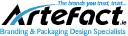 Artefact Ltd - design and marketing consultancy logo