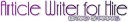 ArticleWriterForHire.com logo