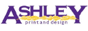 Ashley Print & Design logo