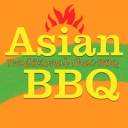 asian BBQ restaurant op locatie logo