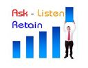 ASK LISTEN RETAIN logo