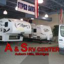 S RV Center logo