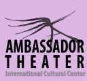 Ambassador Theater, International Cultural Center logo