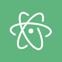 Atom logo icon