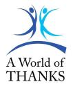 A World of Thanks LLC logo