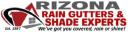 Arizona Rain Gutters logo