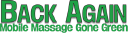 Back Again Mobile Massage logo