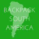 Backpack South America logo icon
