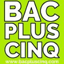 Bacpluscinq logo icon