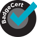 Badge Cert logo icon