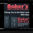 Baker's Safe & Lock logo