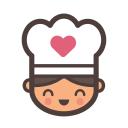 Baking Pleasures logo icon