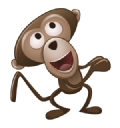 Balloon Monkey logo icon