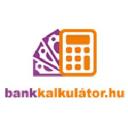 Bankkalkulátor logo icon