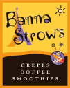 BannaStrow's Crepes and Coffee logo