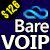 BareVOIP logo