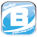 Barflya Graphic Design and Print logo