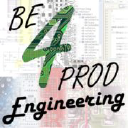 BE4PROD Engineering logo