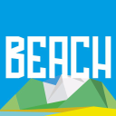 Beach logo icon